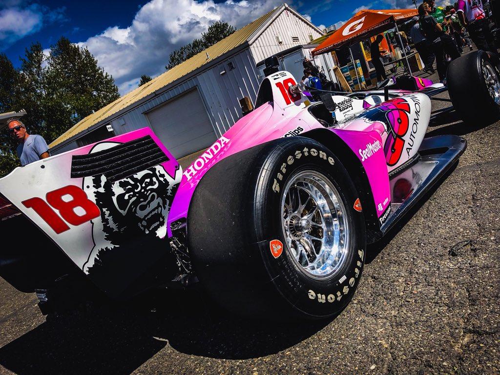 Indycar | GP Portland: Bourdais il più veloce al venerdì