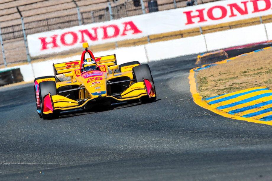 Indycar | Hunter-Reay domina a Sonoma, ma il campione è Scott Dixon