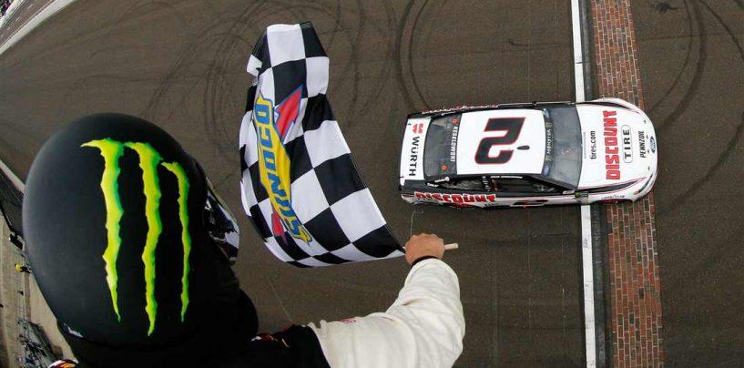 "<span class=""entry-title-primary"">NASCAR | Keselowski fa il bis a Indianapolis</span> <span class=""entry-subtitle"">Brad regala a Roger Penske la sua prima Brickyard400. Johnson e Bowman qualificati ai playoff</span>"