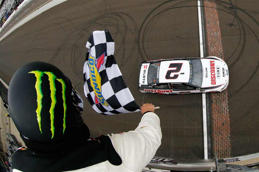 NASCAR   Keselowski fa il bis a Indianapolis