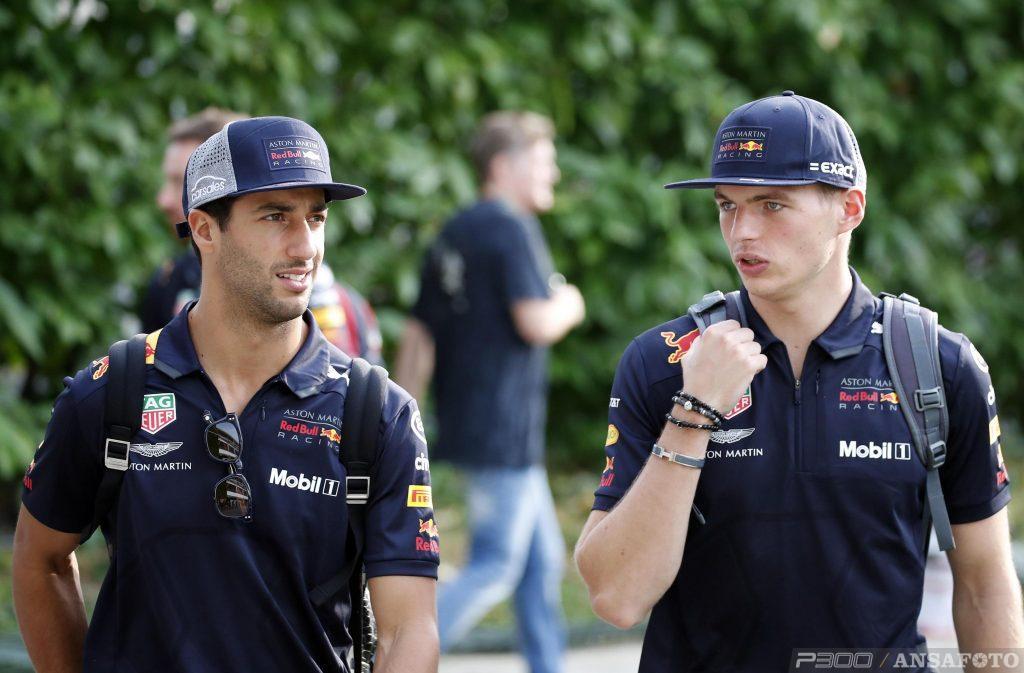 F1 | GP Singapore: dominio Red Bull nella FP1, Ricciardo davanti a Verstappen