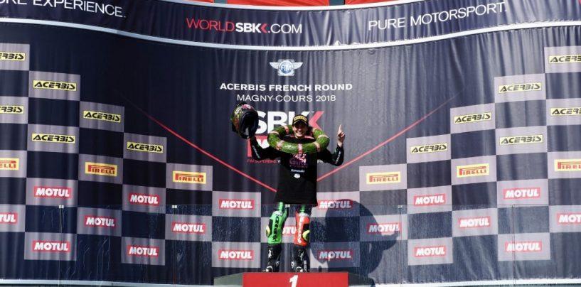 """<span class=""""entry-title-primary"""">GP Francia: i risultati di SSP600, SSP300 e STK1000</span> <span class=""""entry-subtitle"""">Reiterberger diventa l'ultimo campione della Superstock 1000. Carrasco campionessa del mondo</span>"""