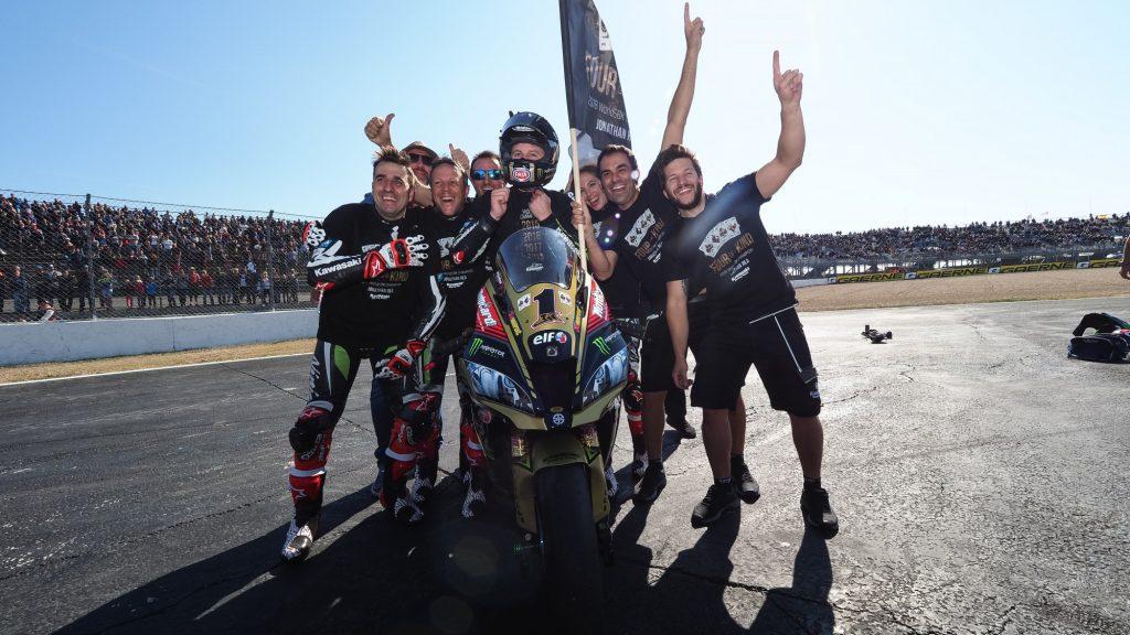 SBK | GP Francia: Rea vince a Nevers ed eguaglia Fogarty