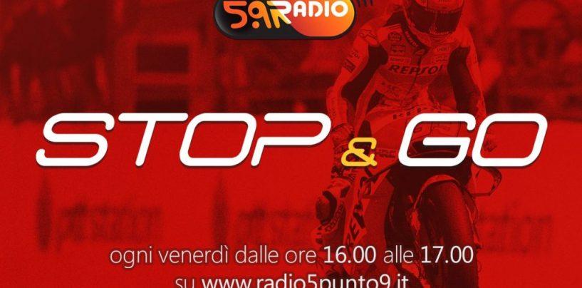 """<span class=""""entry-title-primary"""">""""Stop&Go"""" live venerdì 12 ottobre alle ore 16.00 su Radio 5.9</span> <span class=""""entry-subtitle"""">La trasmissione di P300 in diretta fino alle 17</span>"""