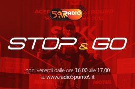 """""""Stop&Go"""" live venerdì 19 ottobre alle ore 16.00 su Radio 5.9"""