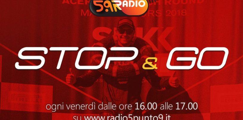 """<span class=""""entry-title-primary"""">""""Stop&Go"""" live venerdì 19 ottobre alle ore 16.00 su Radio 5.9</span> <span class=""""entry-subtitle"""">La trasmissione di P300 in diretta fino alle 17</span>"""