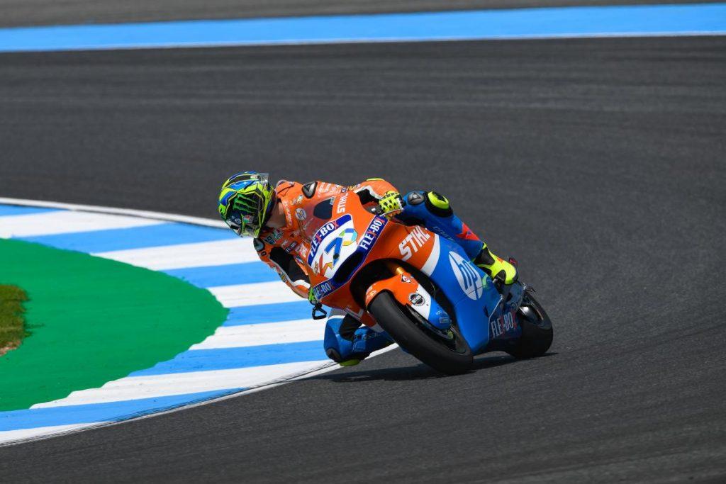 Moto2 | GP Thailandia: miglior tempo per Baldassarri in qualifica