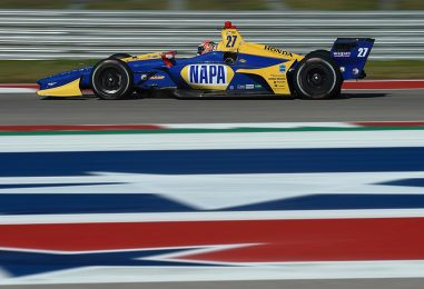 Indycar | Rossi e Kanaan provano per la prima volta il COTA