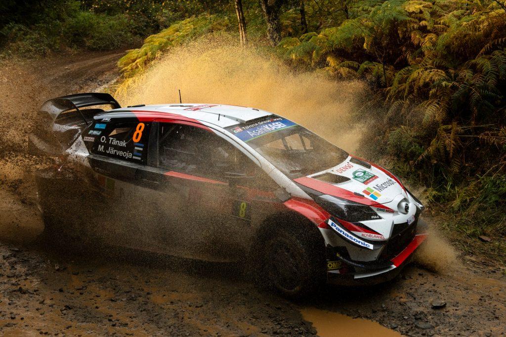 WRC | Galles: Tänak subito in fuga, problemi al cambio per Ogier