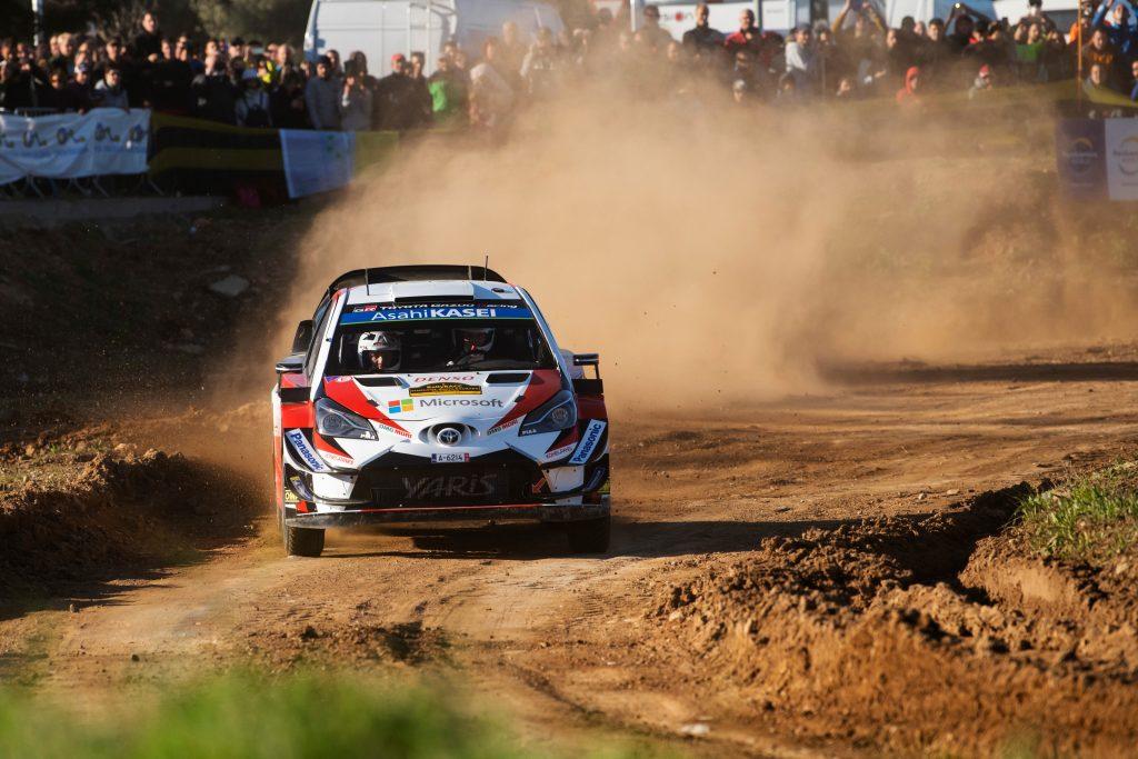 WRC   Catalunya: Tänak prova subito la fuga, Neuville sbaglia ed è ottavo