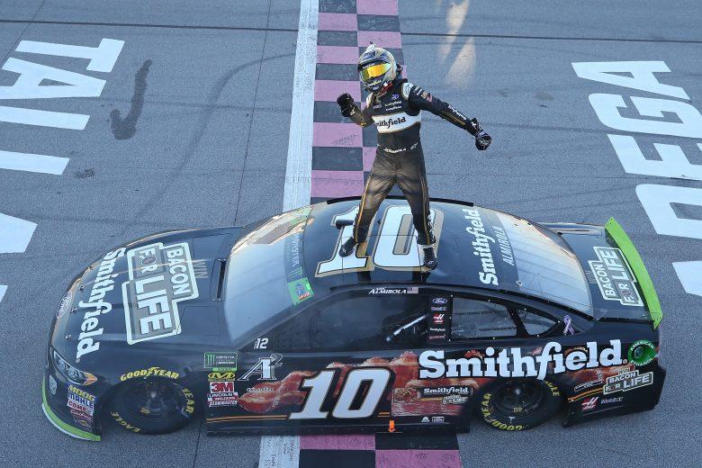 NASCAR | Almirola si prende la rivincita a Talladega