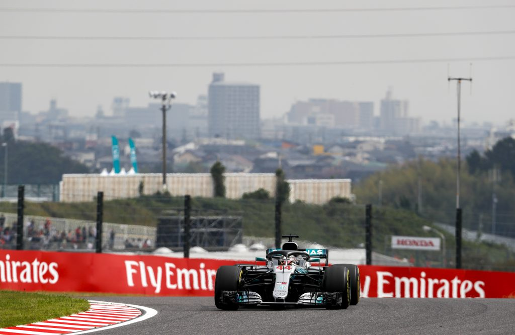 F1 | GP Giappone, qualifiche: Hamilton pole #80, disastro strategico Ferrari. Kimi 4°, Vettel 9° (poi 8°)