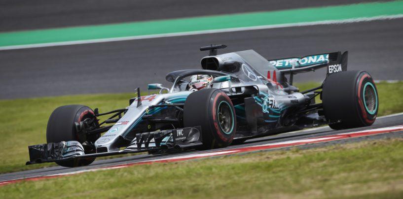 """<span class=""""entry-title-primary"""">F1   GP Giappone: Hamilton sbanca anche Suzuka, 5° titolo ad un passo. Ennesimo harakiri Vettel</span> <span class=""""entry-subtitle"""">L'inglese domina senza problemi. Il tedesco parte bene, poi sbaglia ancora su Verstappen e deve rimontare. Termina 6°</span>"""