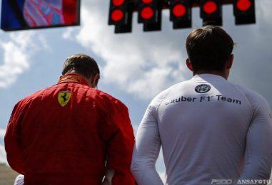 Kimi e Charles tra compleanni, una Ferrari ed una Sauber in comune