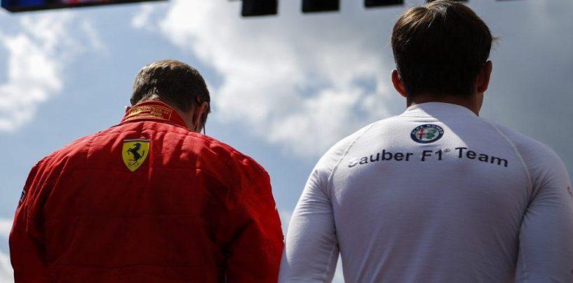 """<span class=""""entry-title-primary"""">Kimi e Charles tra compleanni, una Ferrari ed una Sauber in comune</span> <span class=""""entry-subtitle"""">Tra presente (Raikkonen spegne 39 candeline) e futuro (Leclerc 21, ieri)</span>"""