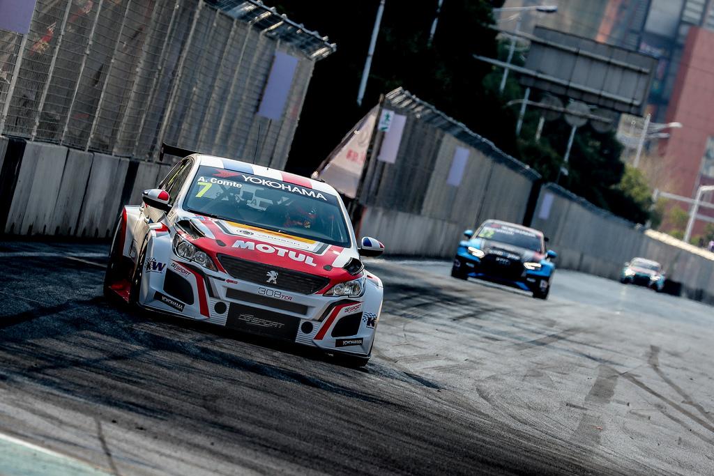 WTCR | Suzuka: prima pole per Comte sulla Peugeot, Ceccon secondo