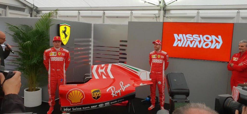 F1 | Ferrari e Philip Morris lanciano 'Mission Winnow'