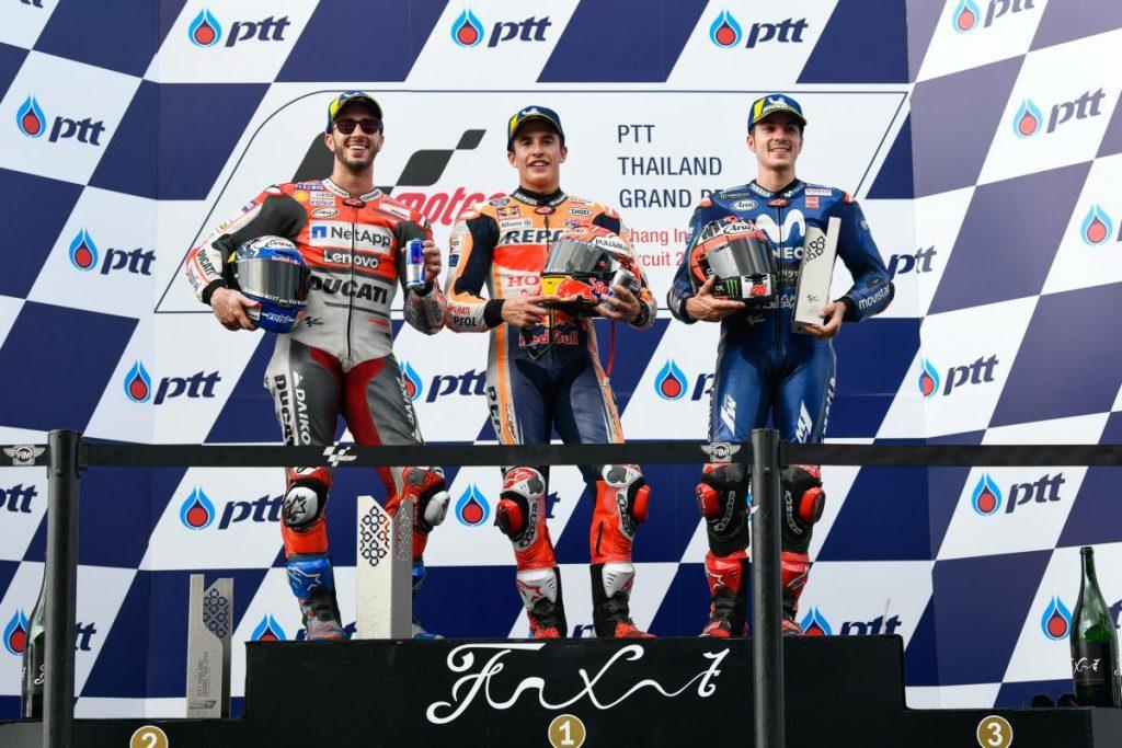 MotoGP | GP Thailandia: Márquez vince la prima gara della classe regina a Buriram