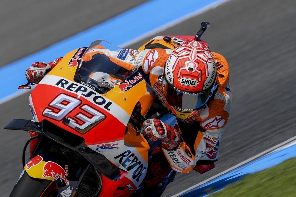 MotoGP | GP Thailandia: Márquez balza dalla Q1 alla pole
