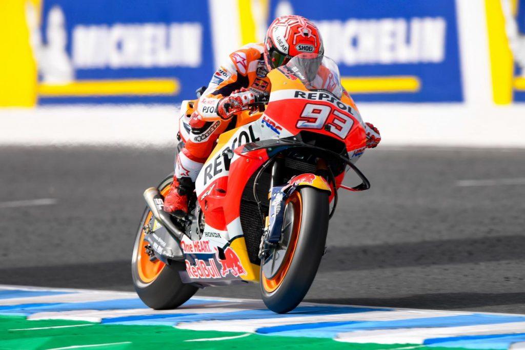 MotoGP   GP Australia: pole fantastica sull'umido per Marc Márquez