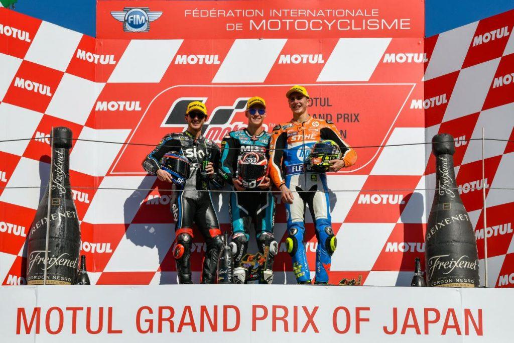 Moto2 | GP Giappone: Fabio Quartararo squalificato, successo a Pecco Bagnaia
