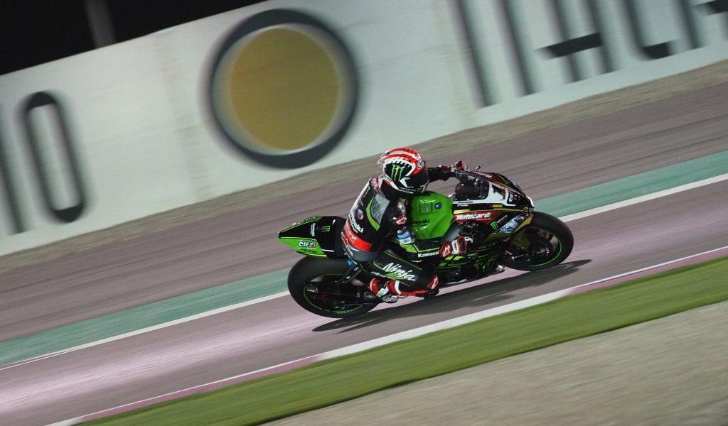 SBK   GP Qatar: doppietta Kawasaki con Rea-Sykes, Lowes dà spettacolo contro Laverty
