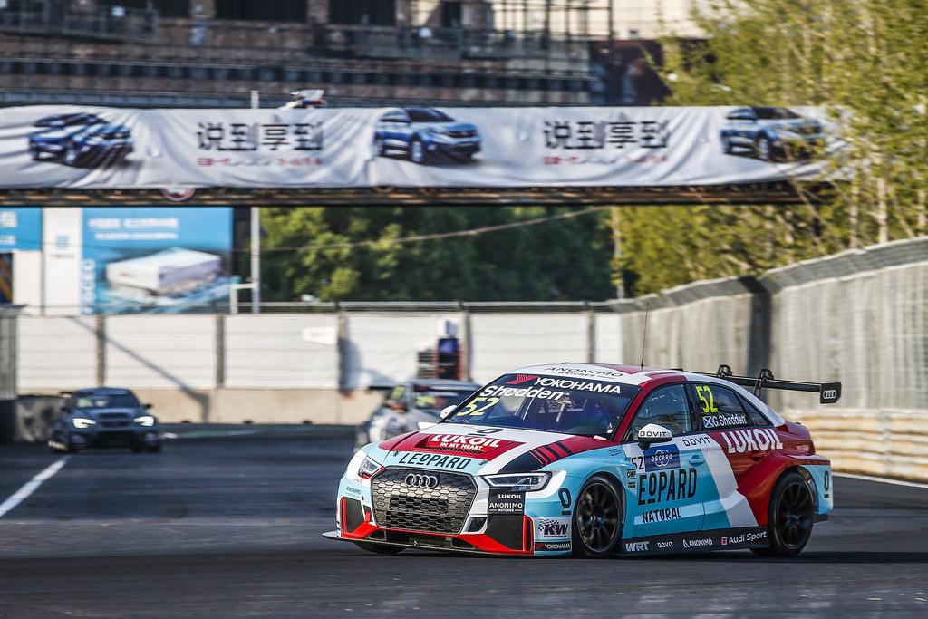 WTCR | Wuhan: prima pole per Shedden nella quaterna Audi