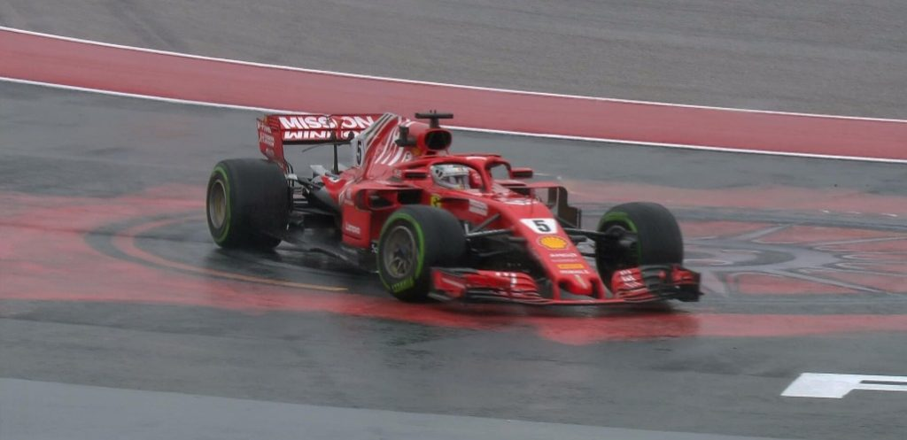 F1 | Vettel troppo veloce in FP1 con bandiera rossa, +3 in griglia ad Austin