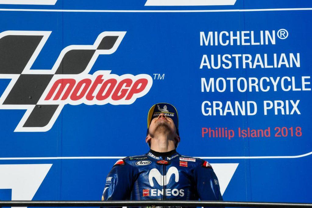MotoGP   GP Australia: Yamaha e Maverick Viñales rompono il loro digiuno!