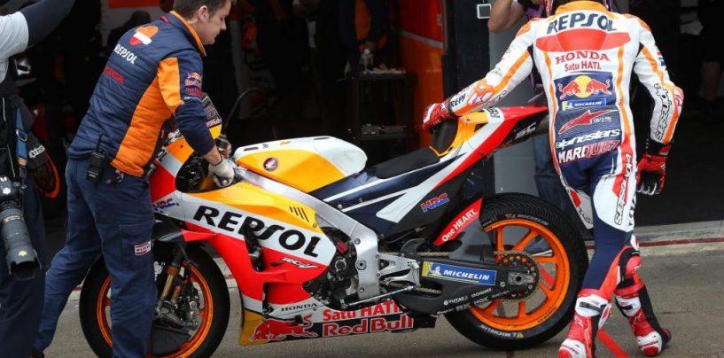 "<span class=""entry-title-primary"">Motomondiale | GP Valencia, sintesi warm-up</span> <span class=""entry-subtitle"">Márquez primo e favorito anche sull'acqua, Aleix Espargaró secondo, Rossi terzo</span>"