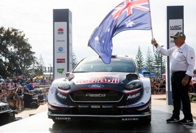 WRC | Australia: Neuville perde 40 secondi, Ogier risale settimo