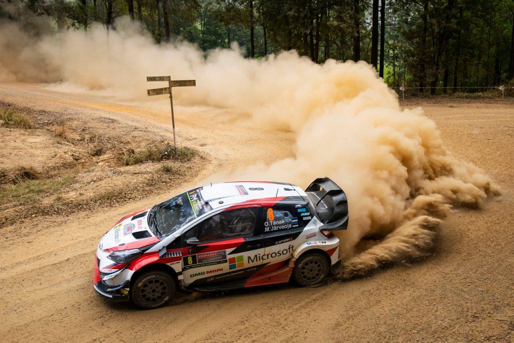 WRC | Australia: Tänak passa al comando, Neuville ottavo