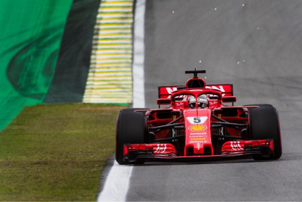 F1   GP Brasile: Reprimenda per Vettel al termine delle qualifiche