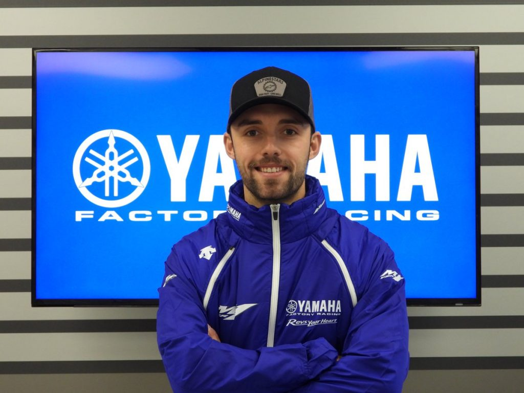 MotoGP   Jonas Folger ritorna come collaudatore Yamaha