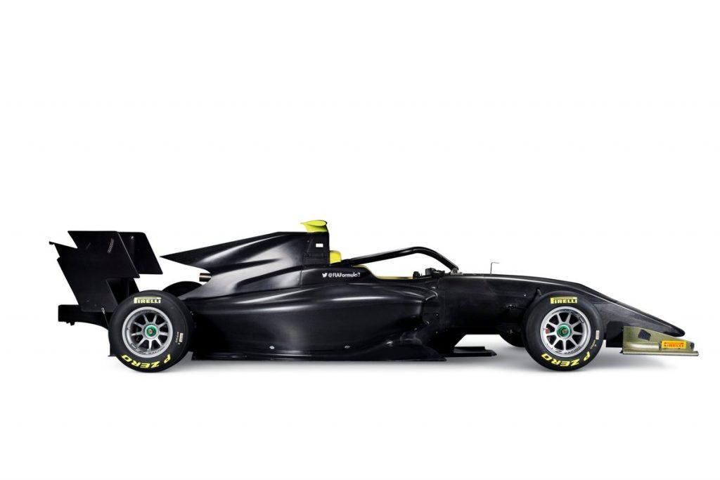 F3 | Presentata la vettura per il triennio 2019-2021 1