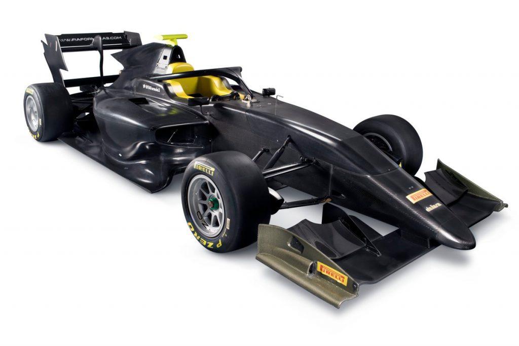 F3   Presentata la vettura per il triennio 2019-2021