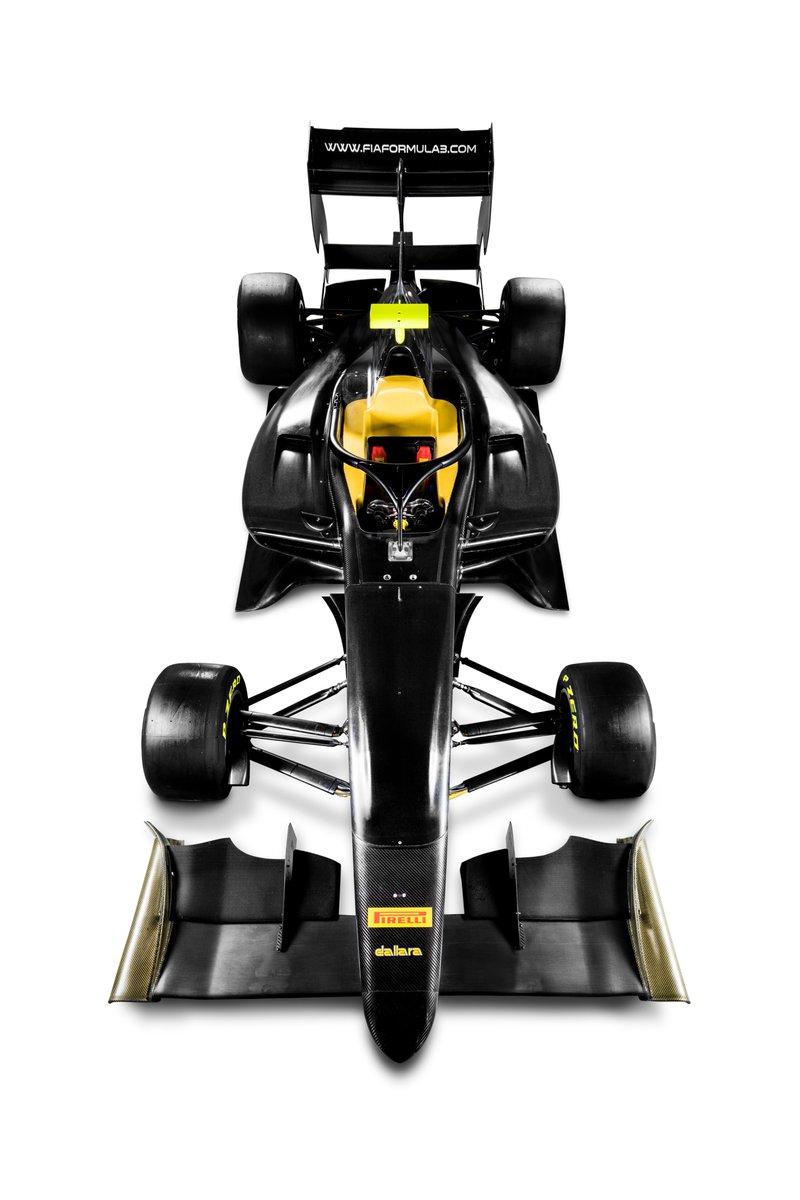 F3 | Presentata la vettura per il triennio 2019-2021 2