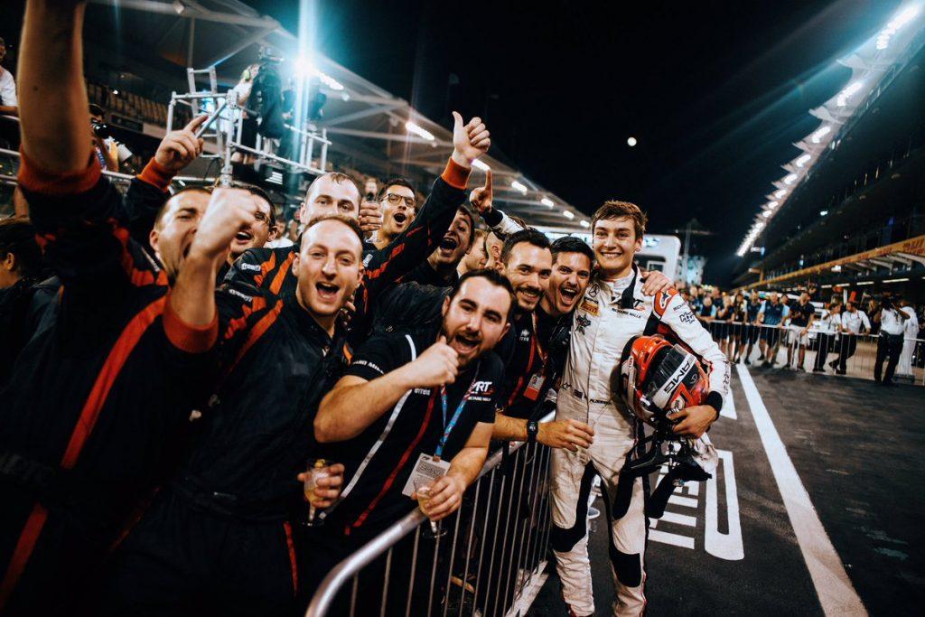 F2 | GP Abu Dhabi: Russell vince gara e titolo, Ghiotto terzo in rimonta