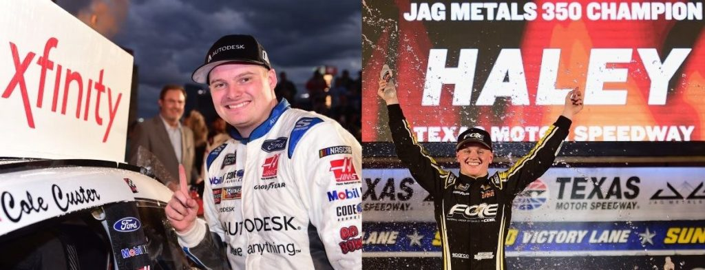 NASCAR | Custer e Haley vincono in Texas e si qualificano per Homestead