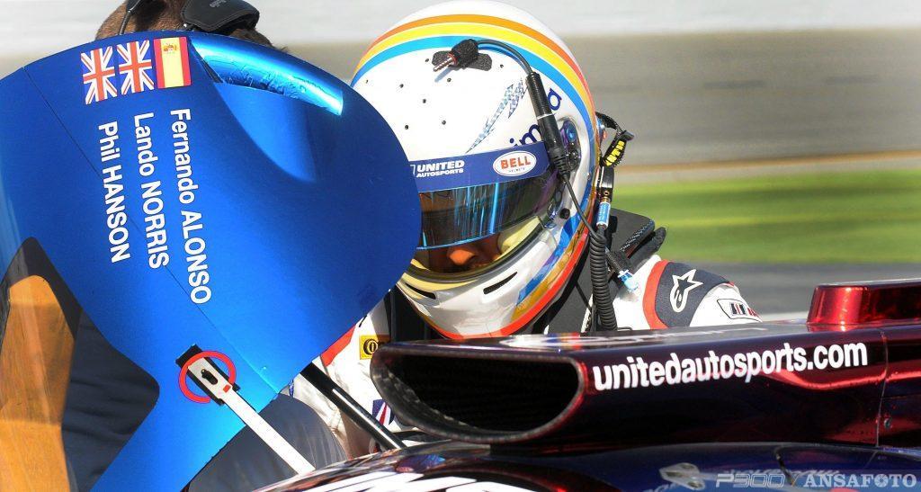 Alonso alla 24 ore di Daytona 2019 con Wayne Taylor Racing