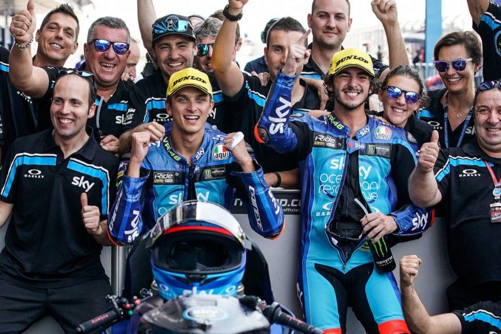 Moto2 | GP Malesia: Luca Marini vince la sua prima gara, Bagnaia è campione del mondo!