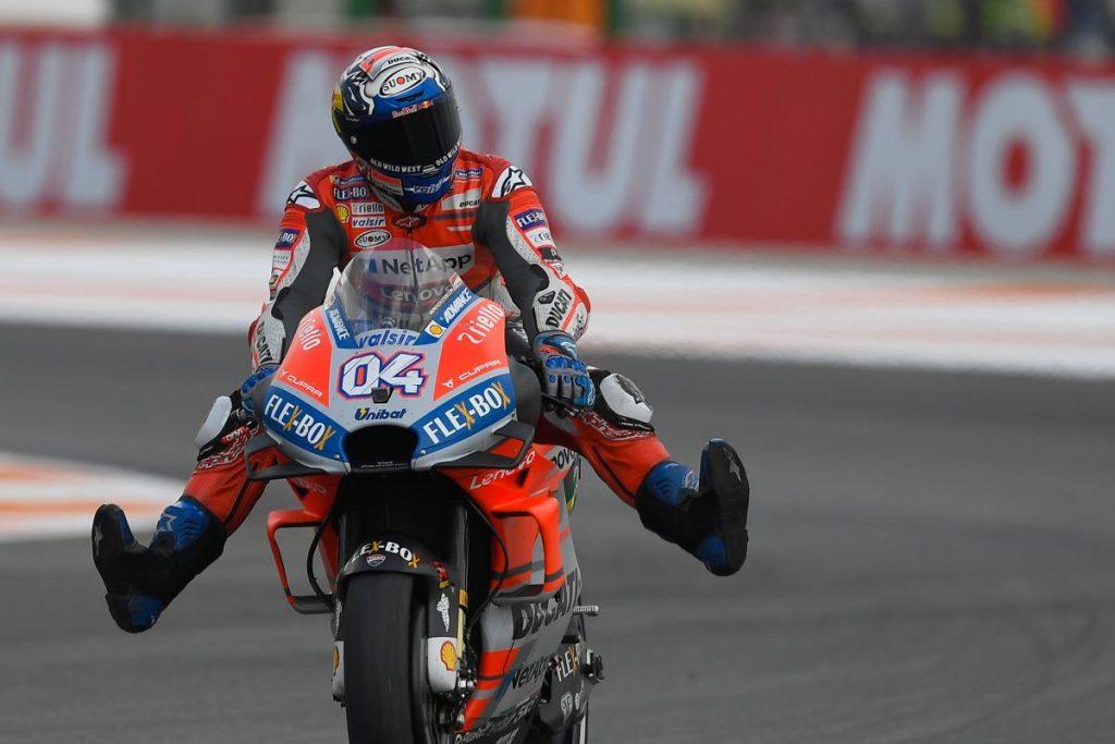 MotoGP   GP Valencia: Dovizioso chiude la sua stagione vincendo una gara pazza