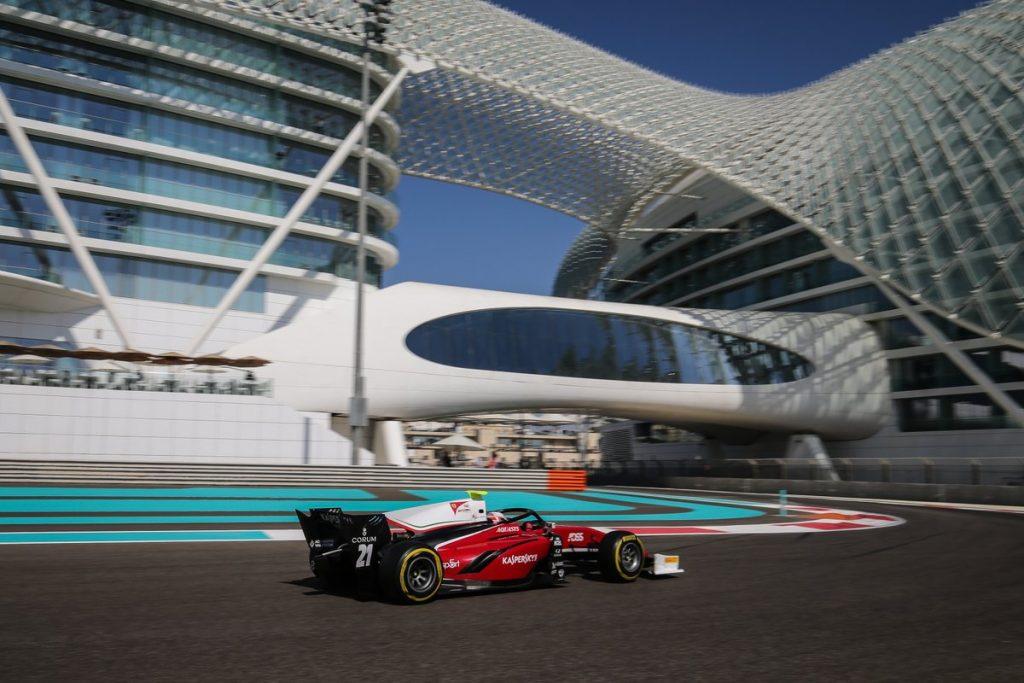 F2 | GP Abu Dhabi: Antonio Fuoco chiude in bellezza vincendo la sprint race