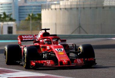 F1 | Abu Dhabi test day 2: Leclerc chiude il 2018 con il miglior tempo