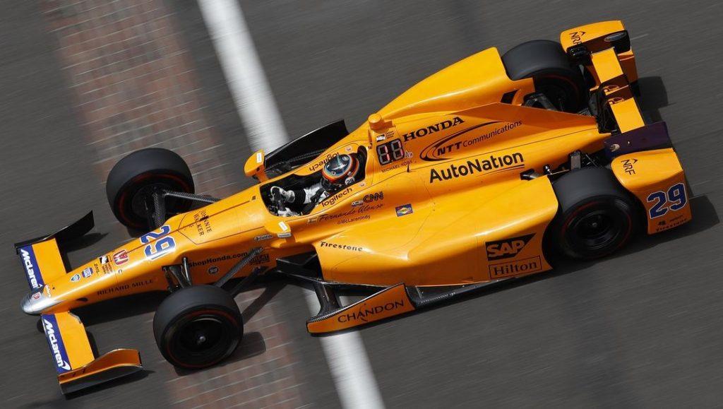 Indycar | Alonso e la McLaren tornano ad Indianapolis