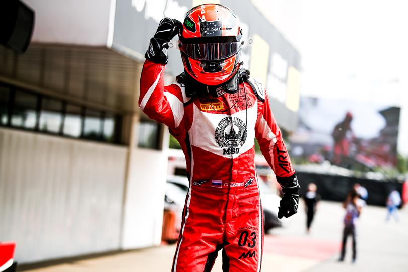 F2 | ART Grand Prix promuove Nikita Mazepin dalla GP3