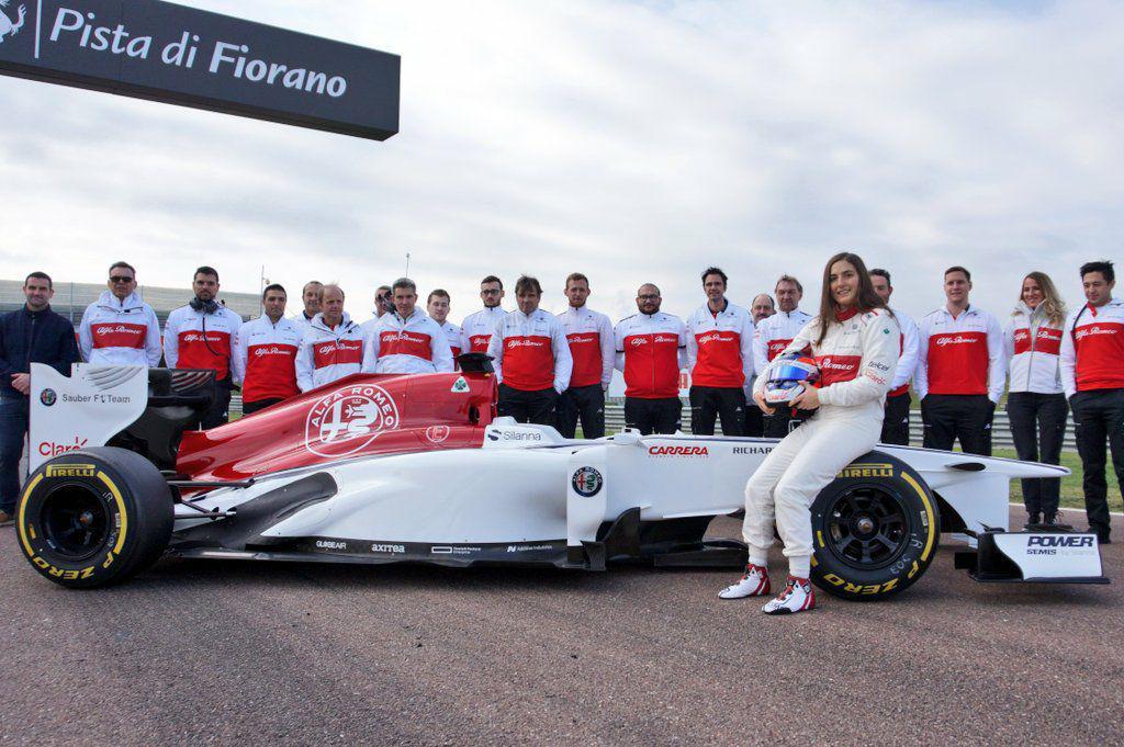 F1 | Tatiana Calderon ha completato due giorni di test a Fiorano 3