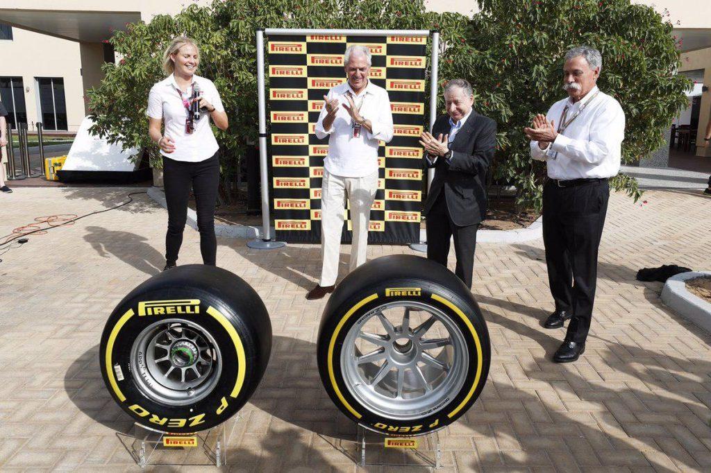 F1 | Alla Pirelli l'appalto di fornitura esclusiva per il 2020-23