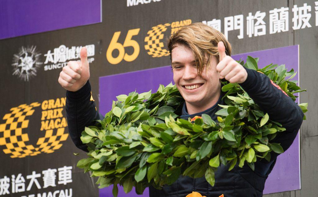 GP Macao: Ticktum domina la Formula 3, Farfus si impone tra le GT