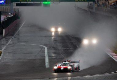 WEC | Shanghai: quarta doppietta Toyota sotto il diluvio, vince la #7